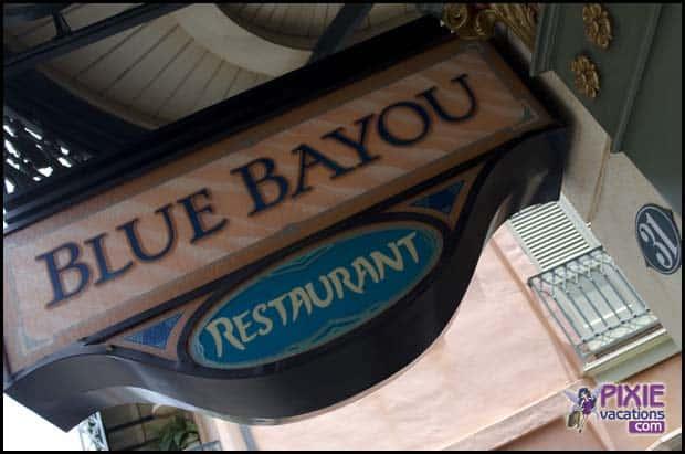 Blue Bayou at Disneyland Park