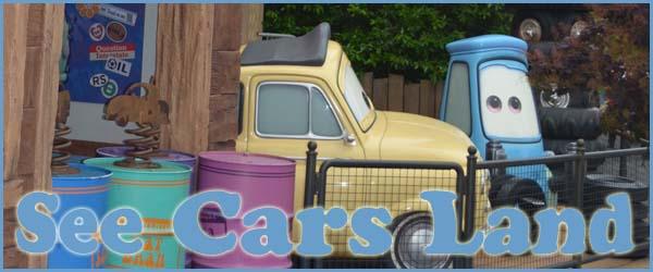 cars land disneyland CA