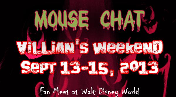 Disney World Villians Weekend Limited Time