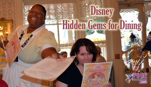 Dining reviews at Disney World