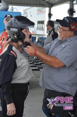Richard Petty Driving Disney World Speedway