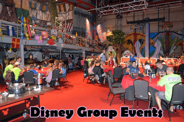 Disney World As A Large Group