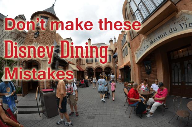 Walt Dsiney World Dining Reviews