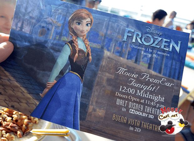 Disney Frozen on the Disney Cruise Line