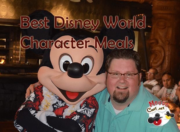 best Disney World Character Meals