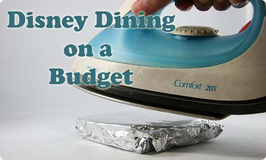Disney Dining Budget
