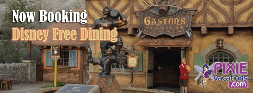 Booking Disney Free Dining