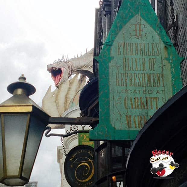 Diagon Ally Universal Studios