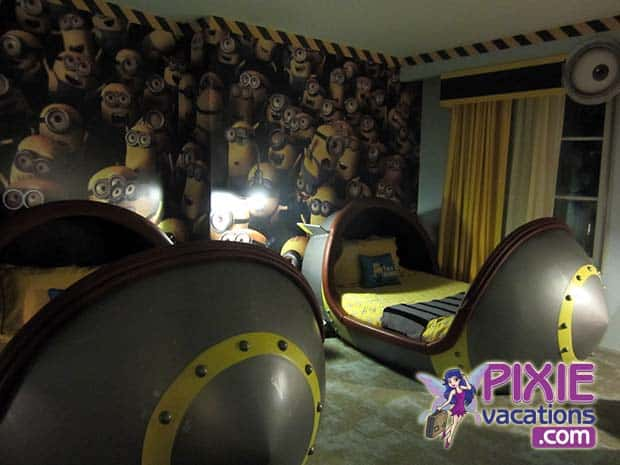 Despicable Me Minion Room Suite