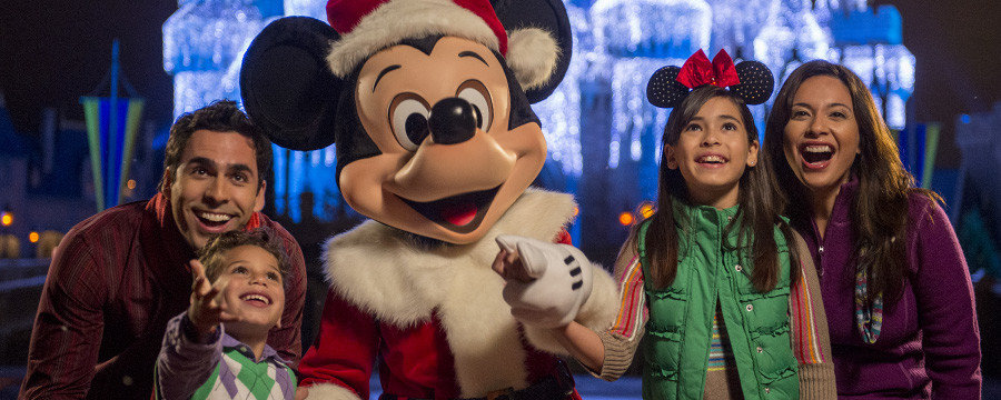 Disney Christmas Party Credit: Disney