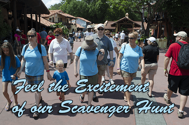 Disney Scavenger Hunt