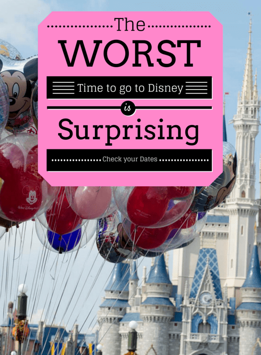 Best time to go to walt disney world