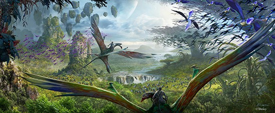 Avatar Land at Disney World