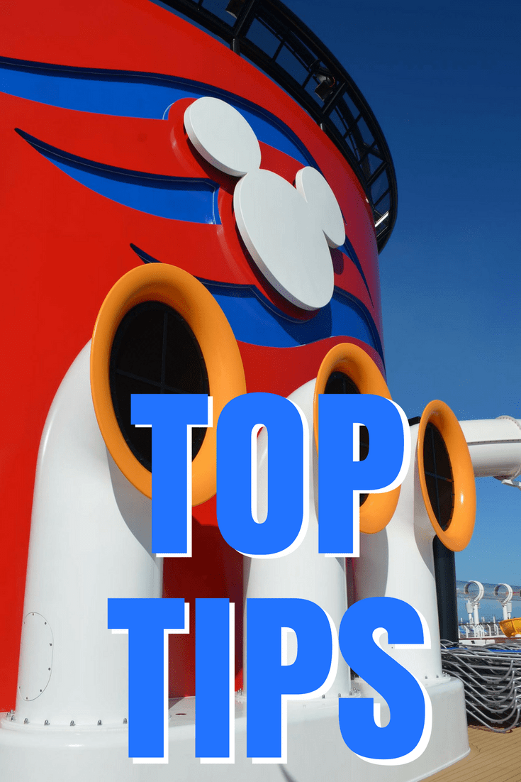 Disney Cruise Line Top Tips for first time cruisers.