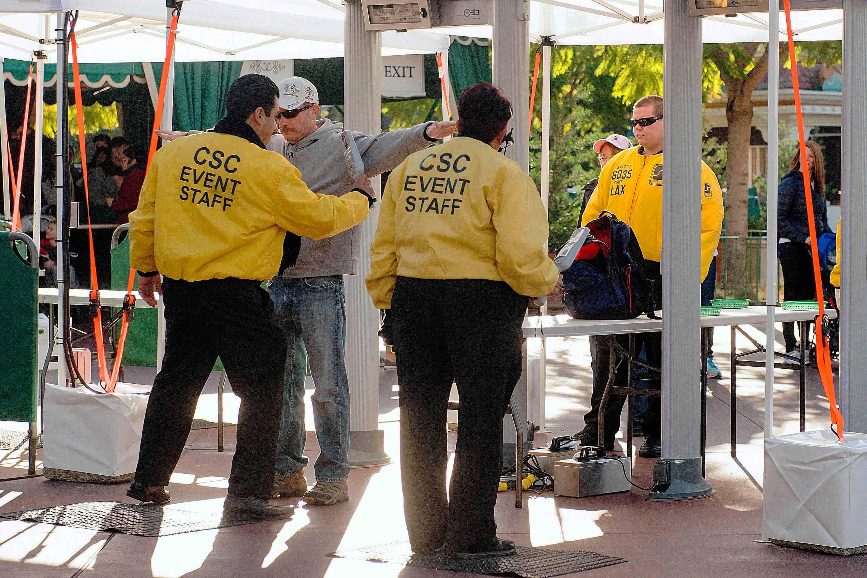 disney park security