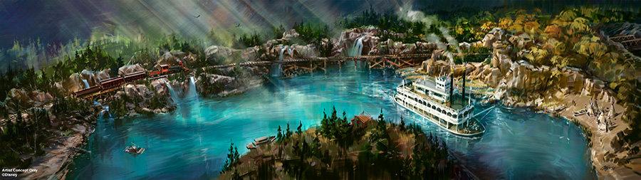 Disneyland Rivers of America Changes