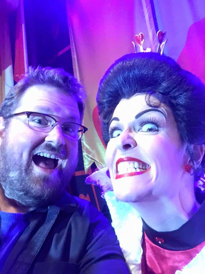 Sharpie at Club Villain Disney World