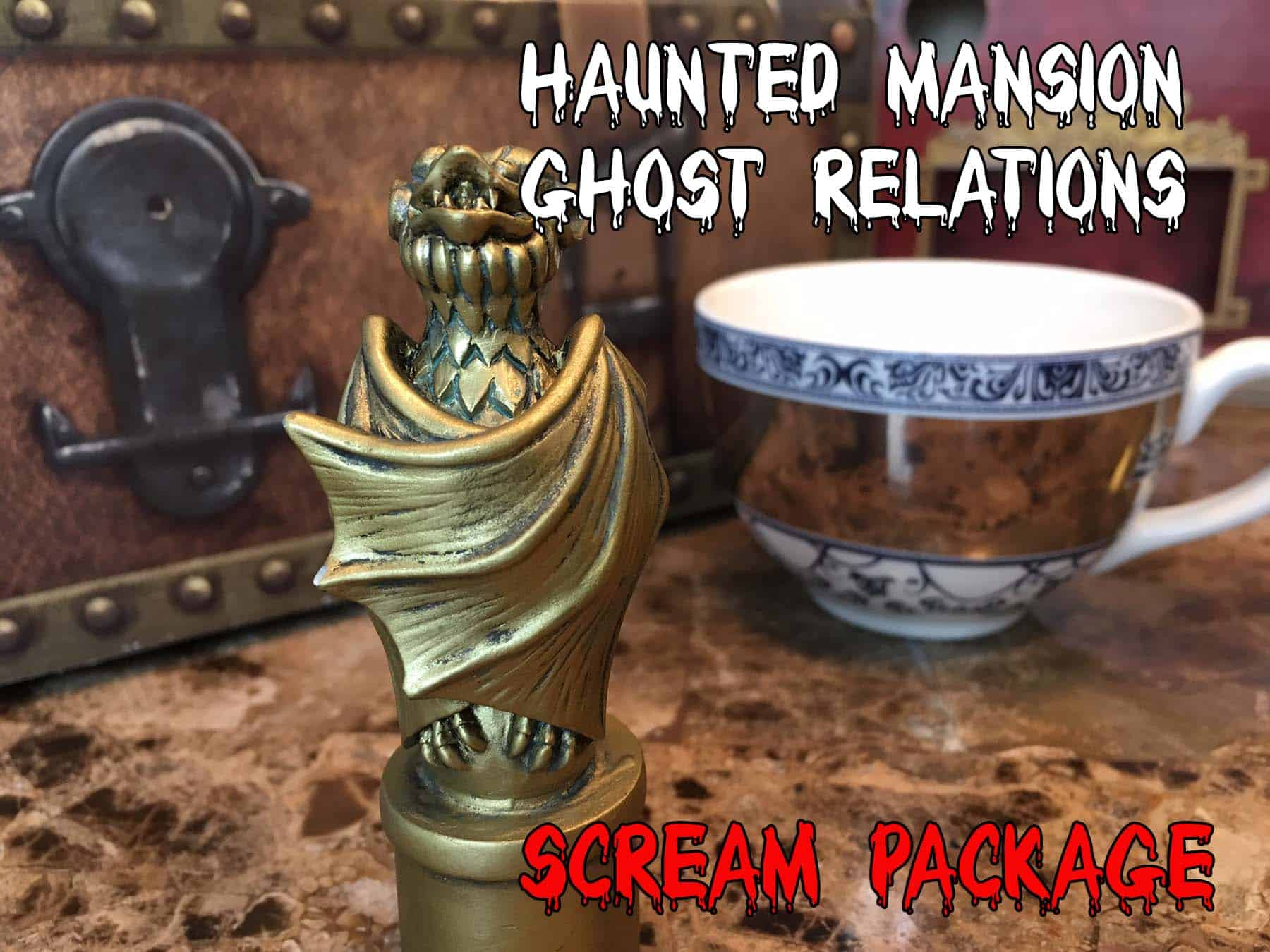 Ghost Relations Scare Package Disney
