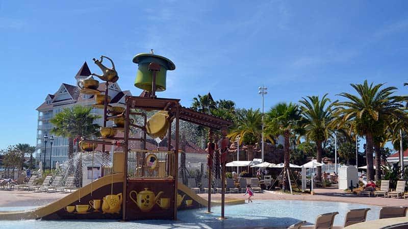 Disney Grand Floridian Summer Pools