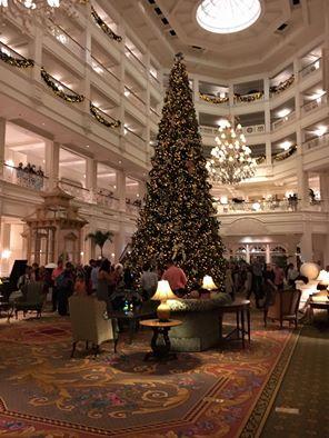 Christmas at Grand Floridian resort