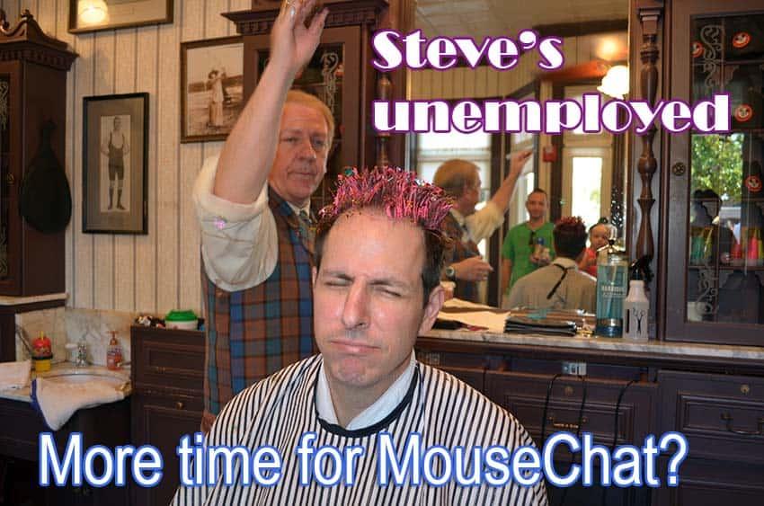 Magic Kingdom Barber shop reservations
