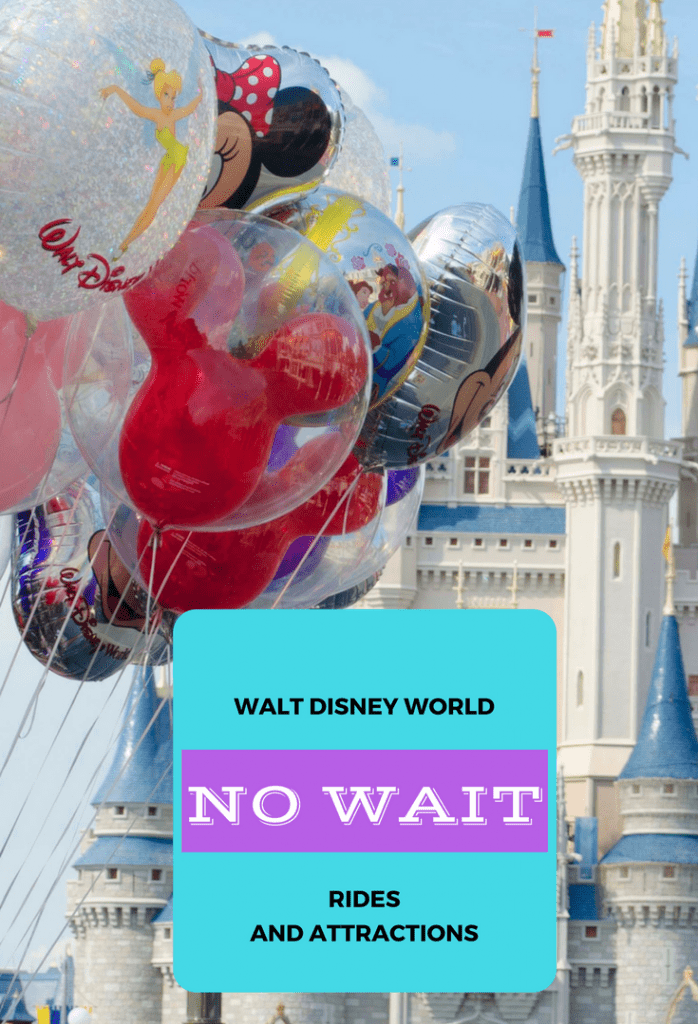 disney world no wait rides and attractions