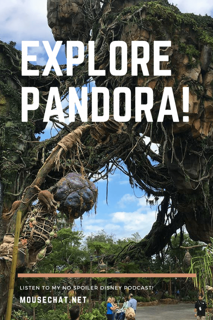 Disney Pandora open at Animal Kingdom