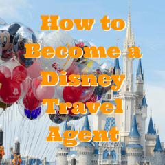 "How to become a ""Disney travel agent"""