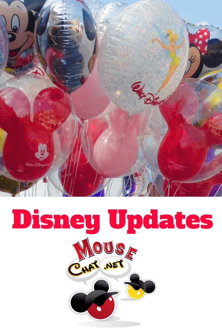 Summer Disney World Updates