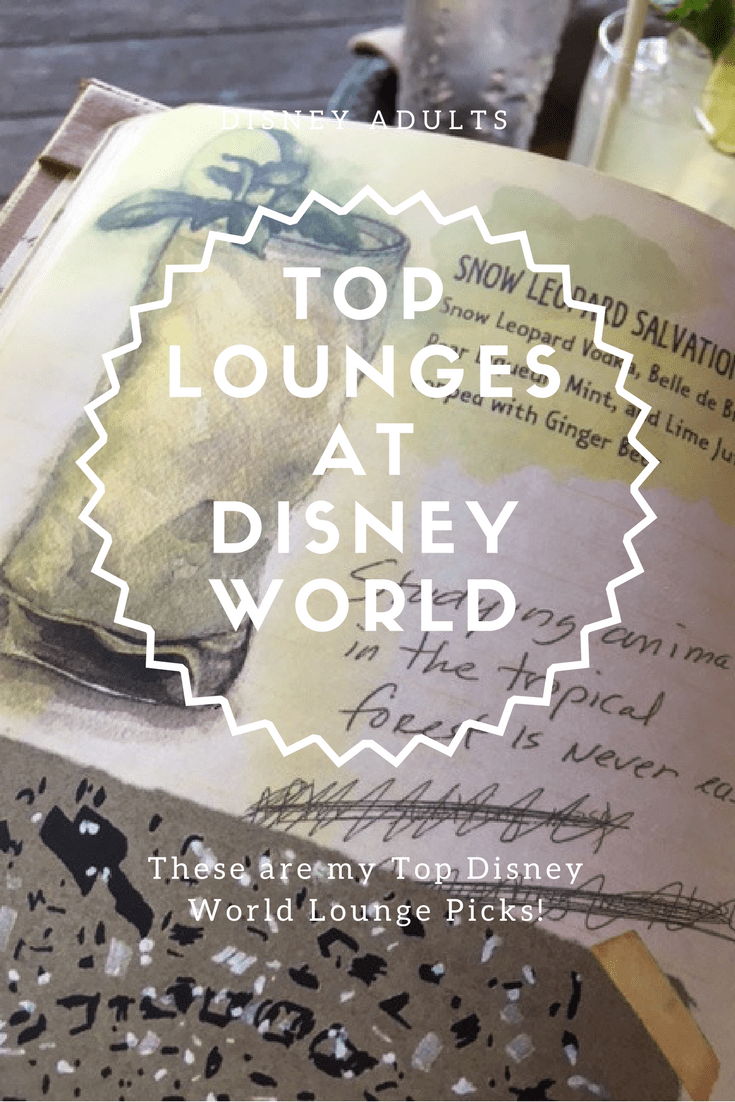 top lunges and drinks at disney world.