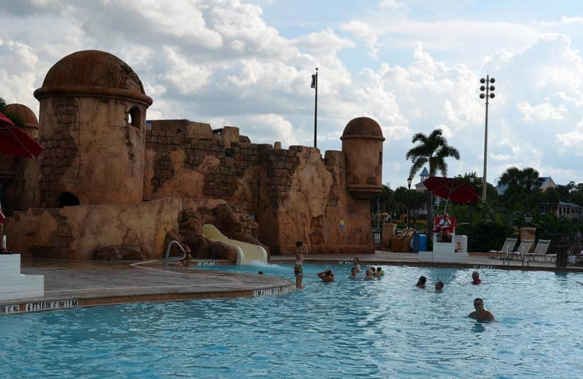 Caribbean Beach Resort at Disney World