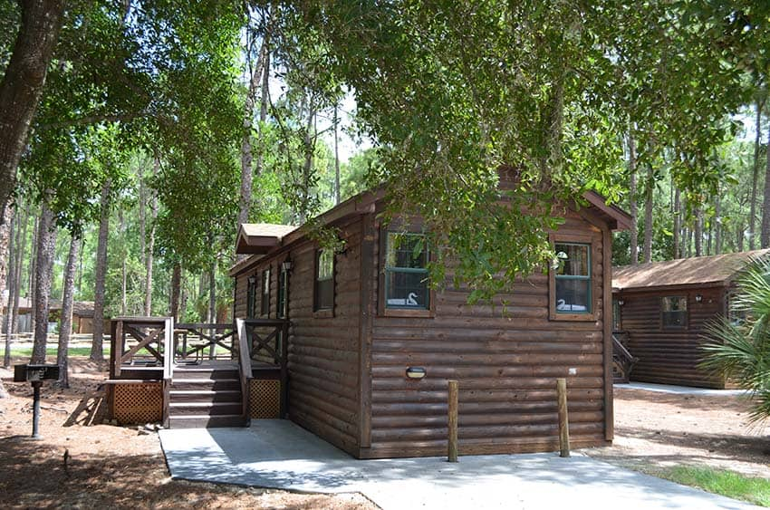 Fort Wilderness Cabins at Disney World