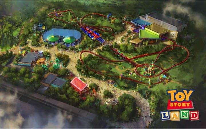 Toy Story Land Opening Date