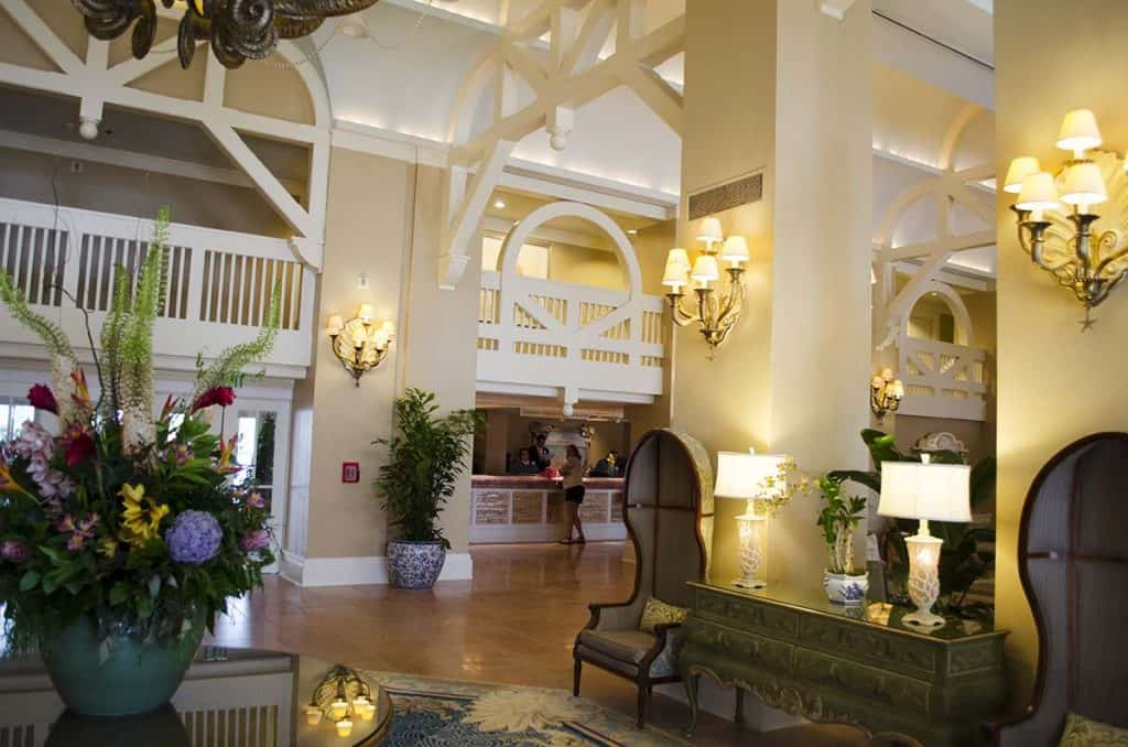 Disney Beach Club Resort Lobby - Resort Review