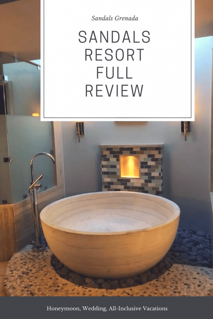 Sandals Resort Review - Grenada Honeymoon, wedding, all-inclusive vacations