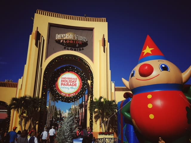 Universal Orlando Christmas