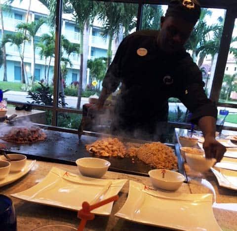 Beaches Resort Food and Restaurants