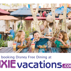 2018 Disney World Free Dining