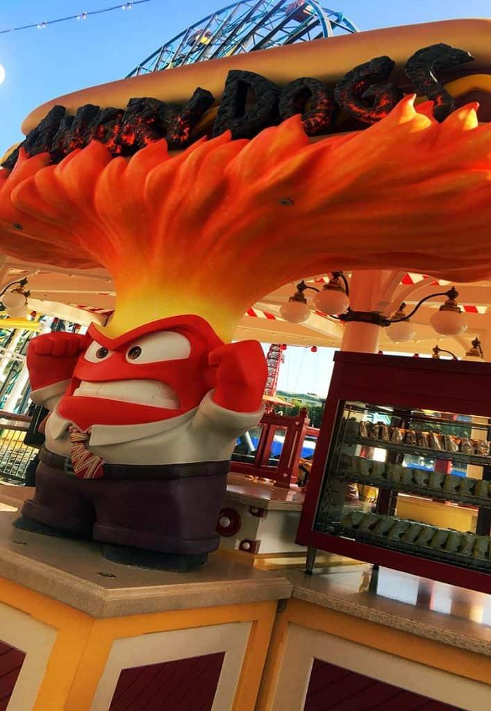 Angry Dog at Disneyland