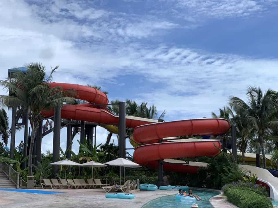 Beaches Resort has a water park with no lines