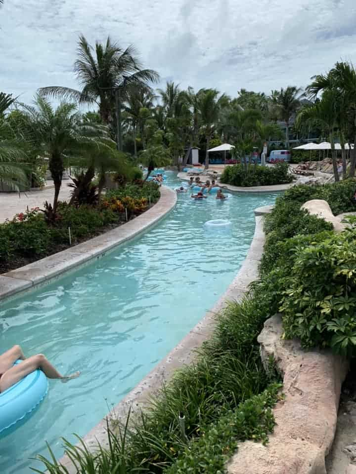 Lazy river at BEaches Resort in Turks and Caicos