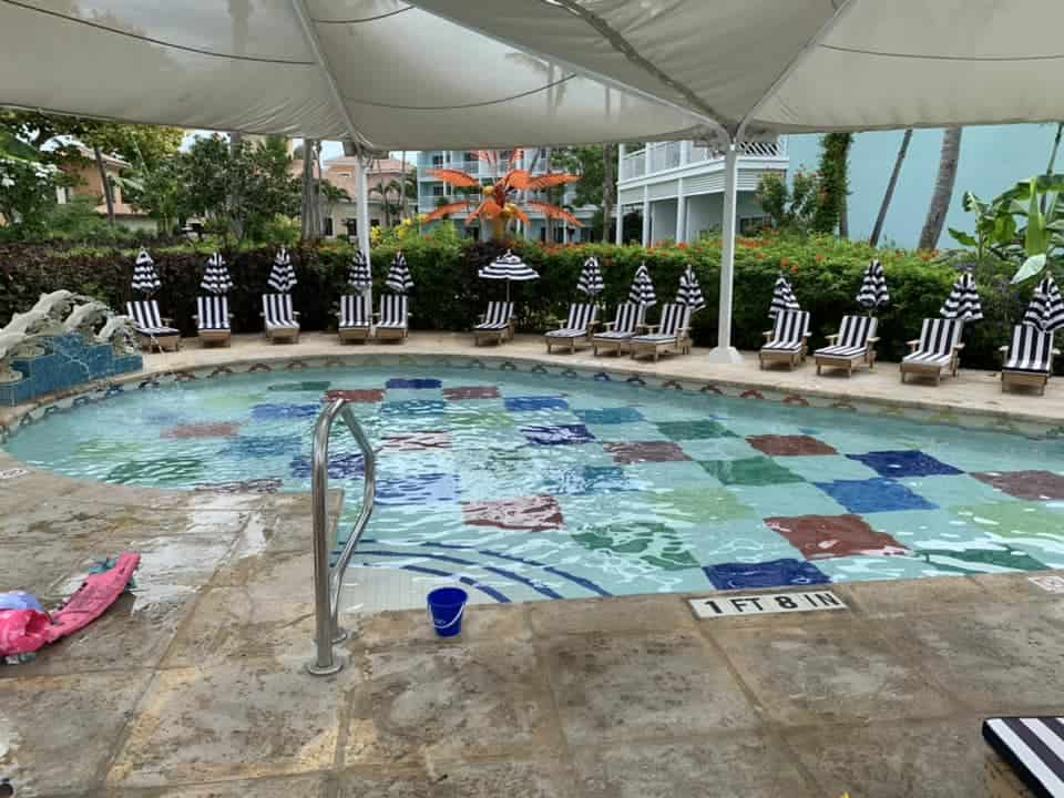 Kids pool area at Beaches Resort