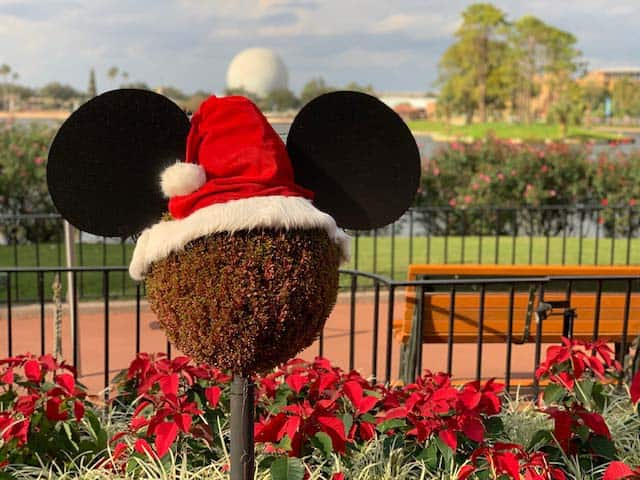 Epcot Festivval of the holidays event