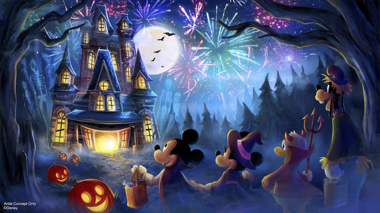 Disney World Halloween Party event