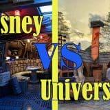 Star Wars Land VS Hagrid's Coaster