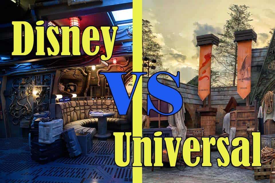 Disneyland vs Universal Studios