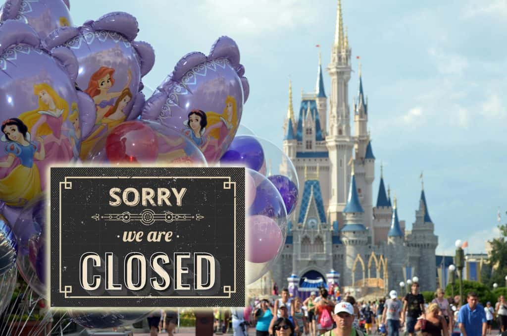 Disney is closed